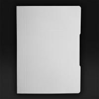 Skoroszyt papierowy A4, KONFEX, biały, Skoroszyty pozostałe, Archiwizacja dokumentów