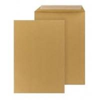 Koperty C5 brązowe HK z paskiem samoklejącym 500 szt., Koperty biurowe, Koperty i akcesoria do wysyłek