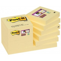 Self-adhesive pad, sticky notes, POST-IT® (622-12SSCY-EU), 51x51mm, 12x90 sheets, yellow