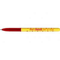 Długopis TOMA, TO-050, Sunny w gwiazdki czerwony, Długopisy, Artykuły do pisania i korygowania