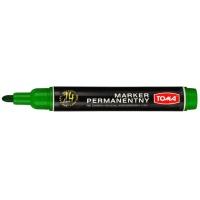 Marker permanentny TOMA, TO-132, okrągły, 2, 5 mm, zielony, Markery, Artykuły do pisania i korygowania