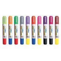 Marker do tkanin, TOMA, Artline, T-shirt, AR-002, EKT-2, 2 mm, żółto neonowy, Markery, Artykuły do pisania i korygowania