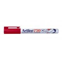 Marker do prania, TOMA, Artline, Laundry, AR-750, EKT-750 0, 7 mm, czerwony,, Markery, Artykuły do pisania i korygowania
