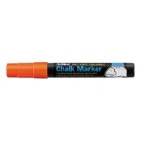 Marker kredowy do tablic TOMA, Artline, AR-014, EPW-4, okrągły, 2 mm, pomarańczowy, Markery, Artykuły do pisania i korygowania