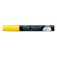 Marker kredowy do tablic TOMA, Artline, AR-014, EPW-4, okrągły, 2 mm, żółty, Markery, Artykuły do pisania i korygowania