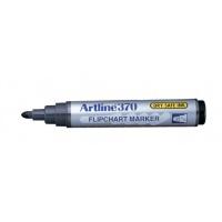 Marker do papieru TOMA, Artline, AR-370, EK-370, ściety, 2 mm, czarny, Markery, Artykuły do pisania i korygowania