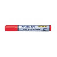 Marker do papieru TOMA, Artline, AR-370, EK-370, ściety, 2 mm, czerwony, Markery, Artykuły do pisania i korygowania