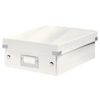Pudełko z przegródkami Leitz Click & Store, małe, Pojemniki na katalogi, Archiwizacja dokumentów