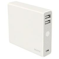 Zasilacz podróżny Leitz Complete 12000, ze złączem USB, Przedłużacze, listwy, zasilacze, UPSy, Urządzenia i maszyny biurowe