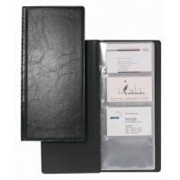 VISIFIX® 128, album na 128 wizytówek 57 x 90 mm., Wizytowniki, Drobne akcesoria biurowe