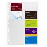 Wkład do VISIFIX A4 2384/2388 (10 kieszeni do wizytownika 400), Wizytowniki, Drobne akcesoria biurowe