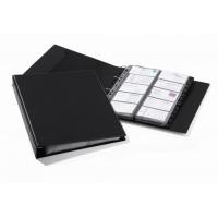 VISIFIX® A4 ECONOMY wizytownik na 400 wizytówek, przekładki A-Z, czarny, Wizytowniki, Drobne akcesoria biurowe