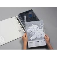 Grzbiet zaciskowy A4, szer. 14, 5mm, gr. 3mm na 30 kartek, z perforacją do segr., Listwy zaciskające i samoprzylepne, Archiwizacja dokumentów
