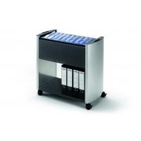 DESIGN LINE wózek na teczki zawieszkowe, 80 A4, Pojemniki na teczki, Archiwizacja dokumentów