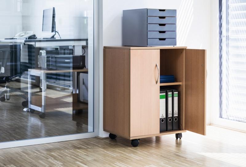Stolik biurowy 74/53 CLOSED, Biurka, stoły i stoliki, Wyposażenie biura