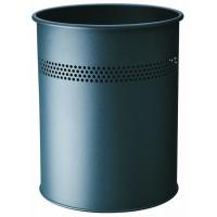 Kosz na śmieci, metalowy, okrągły 15, P 30 mm, Kosze metal, Wyposażenie biura