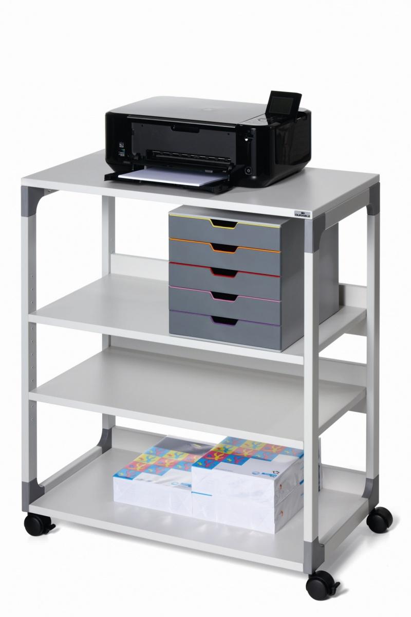 Stolik biurowy SYSTEM MULTI TROLLEY 88, Biurka, stoły i stoliki, Wyposażenie biura
