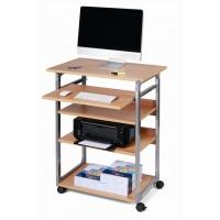 Stolik do komputera SYSTEM COMPUTER TROLLEY 75 VH, Biurka, stoły i stoliki, Wyposażenie biura