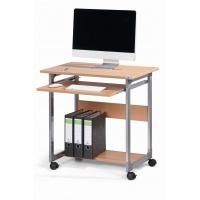 Stolik do komputera SYSTEM COMPUTER TROLLEY 75 FH, Biurka, stoły i stoliki, Wyposażenie biura