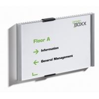 INFO SIGN tabliczka przydrzwiowa 210x148, 5 mm, Identyfikatory, Prezentacja