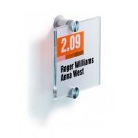 CRYSTAL SIGN tabliczka przydrzwiowa 105x105 mm, Identyfikatory, Prezentacja