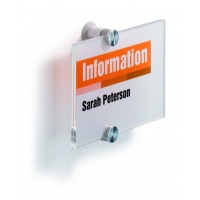 CRYSTAL SIGN tabliczka przydrzwiowa 148x105 mm, Identyfikatory, Prezentacja