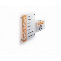 CRYSTAL SIGN tabliczka przydrzwiowa 148x148 mm, Identyfikatory, Prezentacja