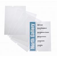 Wkłady do stojaka CRYSTAL SIGN stand 4819, Identyfikatory, Prezentacja
