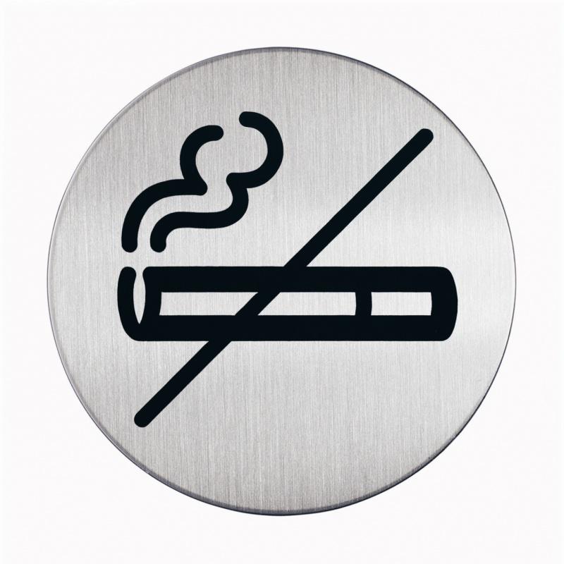 """Tabliczka Ø83 symbol """"DLA NIEPALĄCYCH"""", Tablice, Prezentacja"""