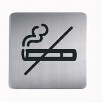 Tabliczka 150x150 mm symbol: dla niepalących, Tablice, Prezentacja