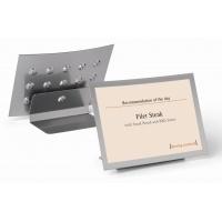 DURAVIEW® TABLE tabliczka na stół A4, Systemy prezentacyjne, Prezentacja