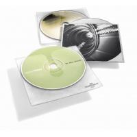 CD COVER, kieszeń na CD z PP z wyściółką ochronną i kieszenią na opis, Pudełka i opakowania na CD/DVD, Akcesoria komputerowe