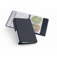 CD INDEX, album z kieszeniami na 20 CD, Pudełka i opakowania na CD/DVD, Akcesoria komputerowe