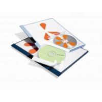 CD/DVD FIX, kieszeń samoprzylepna z wyściółką ochronną, Pudełka i opakowania na CD/DVD, Akcesoria komputerowe
