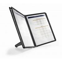 SHERPA SOHO 5, zestaw stołowy z 5 panelami A4, Systemy prezentacyjne, Prezentacja