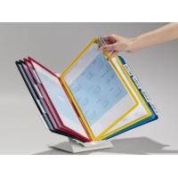 VARIO® PRO 10, uchwyt i 10 paneli A4, pion/poziom, ściana/stół., Systemy prezentacyjne, Prezentacja