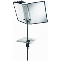 SHERPA® DESK CLAMP 10 statyw stołowy z 10 panelami A4, Systemy prezentacyjne, Prezentacja