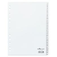 Przekładki PP A4 białe, nadrukowane indeksy, 1-31, Przekładki polipropylenowe, Archiwizacja dokumentów