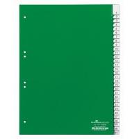 Przekładki A4 zielone, zgrzane wymienne indeksy, 1-31, Przekładki polipropylenowe, Archiwizacja dokumentów