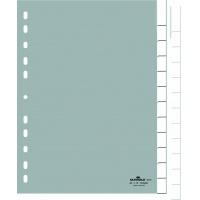 Przekładki A4 PP, zgrzane wymienne indeksy, Jan-Dez, 0-12, Przekładki polipropylenowe, Archiwizacja dokumentów