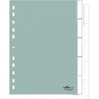 Przekładki A4 PP, zgrzane wymienne indeksy, 5 części, Przekładki polipropylenowe, Archiwizacja dokumentów