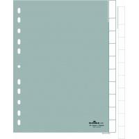 Przekładki A4 PP, zgrzane wymienne indeksy, 10 części, Przekładki polipropylenowe, Archiwizacja dokumentów