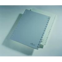 Przekładki A4 PP, zgrzane wymienne indeksy, 0-15 A-Z, Przekładki polipropylenowe, Archiwizacja dokumentów