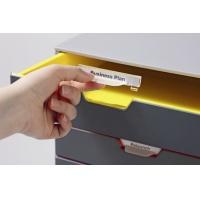 VARICOLOR 5, pojemnik z pięcioma kolorowymi szufladkami. Wymiary: 280x292x356 mm (WxSxG), Take a break, Wyposażenie biura