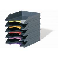 VARICOLOR, zestaw 5 tacek na dokumenty, Przyborniki na biurko, Drobne akcesoria biurowe