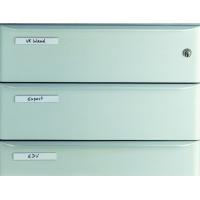 LABELFIX® okienko samoprzylepne dł. 200 mm, wys. 10 mm, Identyfikatory, Prezentacja
