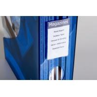 POCKETFIX® samoprzylepna kieszonka wym. wew. 74x43 mm (szer. x wys. ), Etykiety samoprzylepne, Papier i etykiety