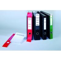 ORDOFIX samoprzylepna kieszonka na segregator 70 mm, 60x390 mm, Etykiety samoprzylepne, Papier i etykiety