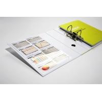 POCKETFIX cross, kieszonka do formatów A4 lewostronna, Etykiety samoprzylepne, Papier i etykiety