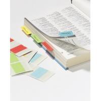 QUICK TAB samoprzylepne dwustronne indeksy, szer. 40 mm, Etykiety samoprzylepne, Papier i etykiety